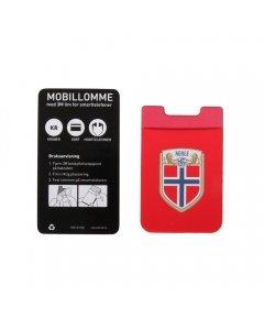 Mobillomme – rød